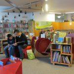 Projekt Lesespaß am Samstag in der Neu-Ulmer Stadtbücherei